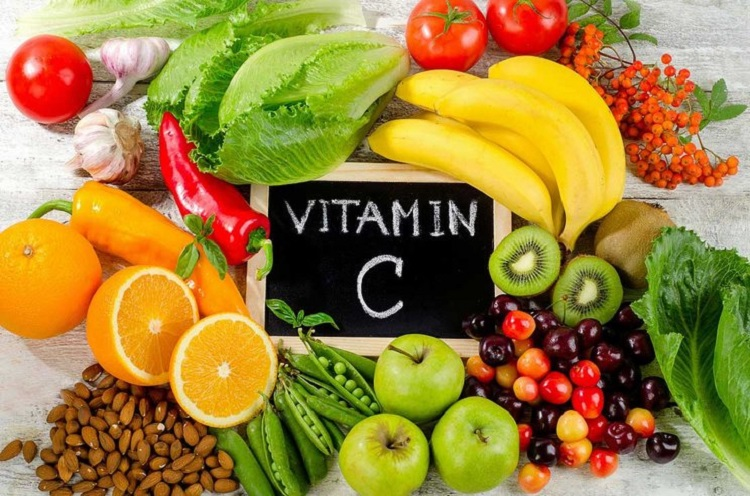 Ilustrasi vitamin C alami, Sumber : review.bukalapak.com