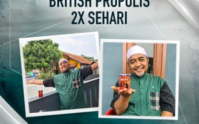 Rutinkan British Propolis 2x Sehari